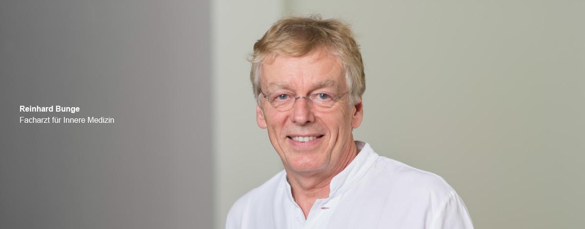 Reinhard Bunge – Facharzt für Innere Medizin der Schwerpunktpraxis für Magen- und Darmerkrankungen, in Hamburg-Billstedt