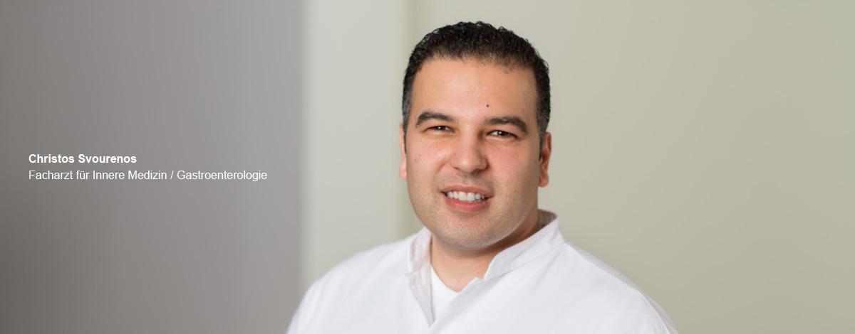 Christos Svourenos – Facharzt für Innere Medizin / Gastroenterologie der Schwerpunktpraxis für Magen- und Darmerkrankungen, in Hamburg-Billstedt